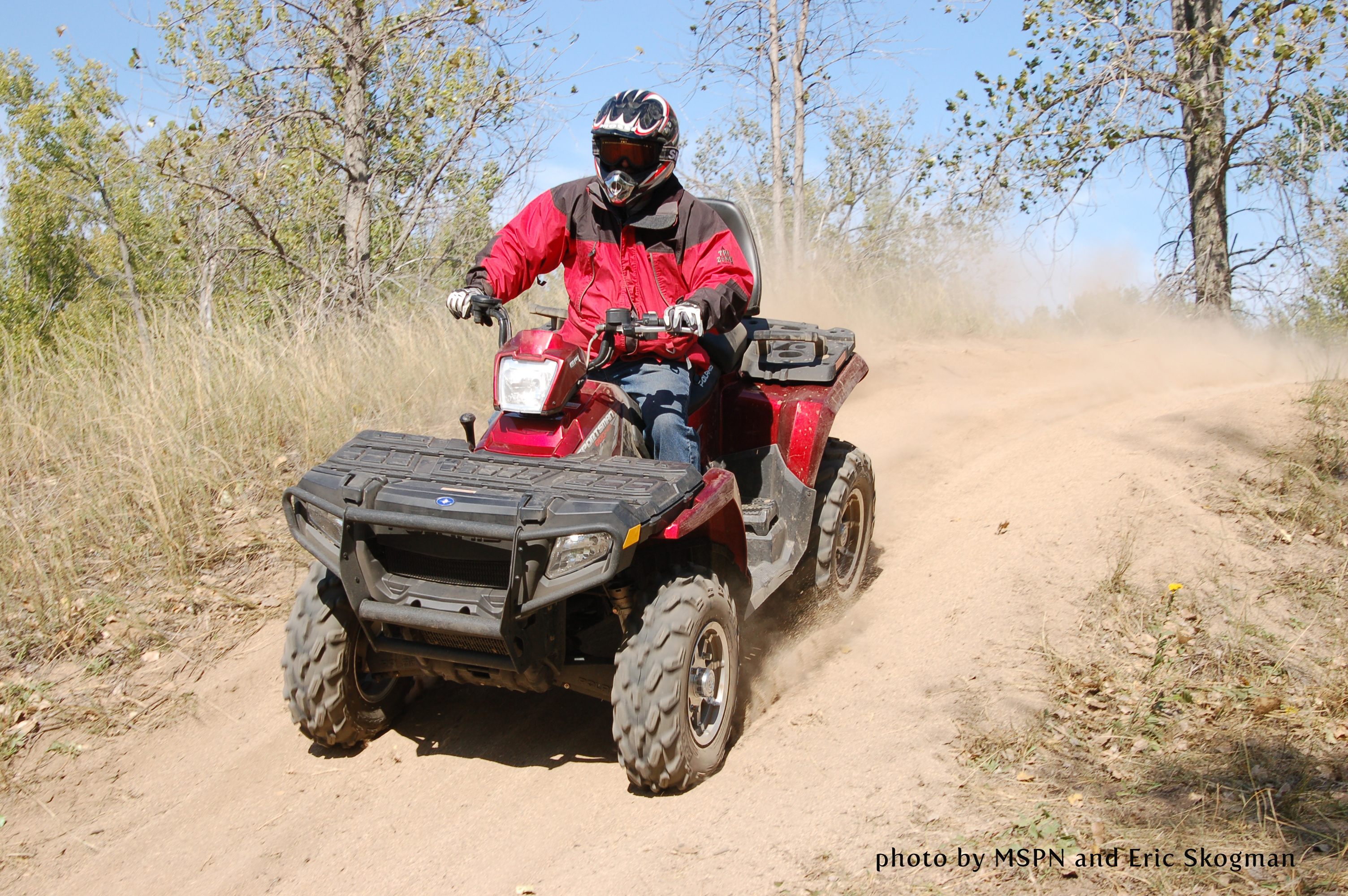 Appleton Area OHV Park2 miles northeast of Appleton on Hwy. 59. (Map it!)330 Acre Park for ATV's, Off-Highway Motorcycles (OHM) & Off Road Vehicles (ORV)10 Miles of ORV Trails5 Miles of ATV/OHM Trails1.5 Mile OHM Practice Track3 Enduro TracksYouth ATV Training CourseYouth OHM Practice TrackGroomed Snomobile TrailsJumps, Water Hole, Sand Dunes, Hill Climbs, Rock CrawlsHiking PathPlay AreasShelter/Picnic AreasFREE ADMISSIONHours: Sunrise to Sunset 7 Days a Week!- All OHV's Must Be Registered- Contact any DNR Conservation Officer. See OHV Regulations Link Below-The City of Appletonhas a city license that should be obtained for driving ATVs on City Streets. This license is free of charge.Information that needs to be provided is: Name, Address,Telephone Number, DNR licensenumber of vehicle and a signature. The form can be found below. Please return to the city office at least 1 week prior to your visit so you can receive your approved permit.